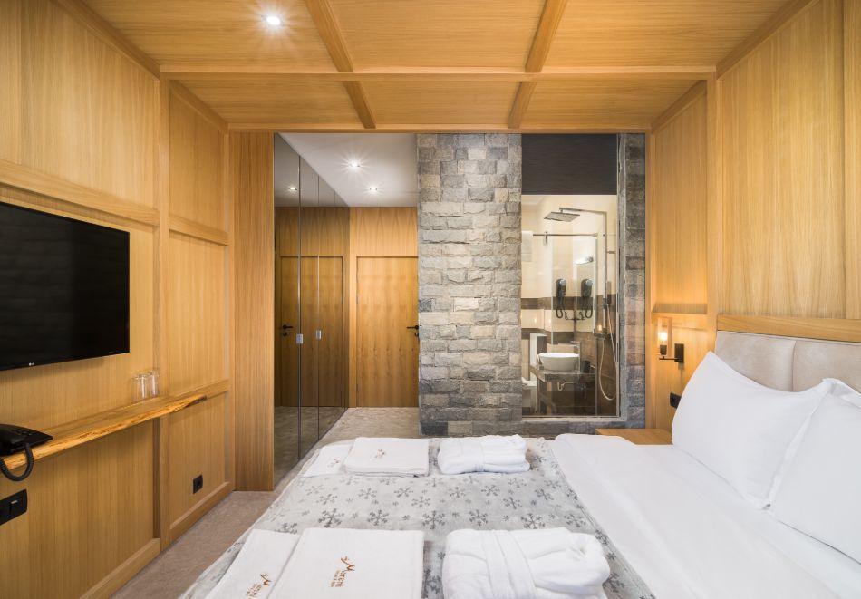Нощувка със закуска за двама + СПА зона от хотел Морени****, Витоша, снимка 12