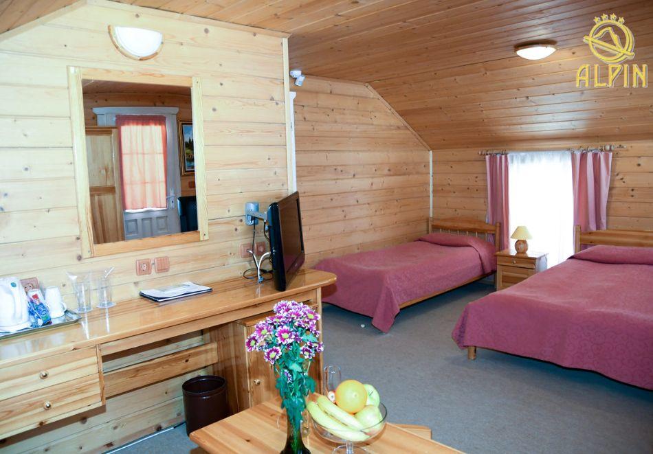 Нощувка със зкуска за ЧЕТИРИМА в едноетажна вила от Вили Алпин****, Боровец, снимка 7