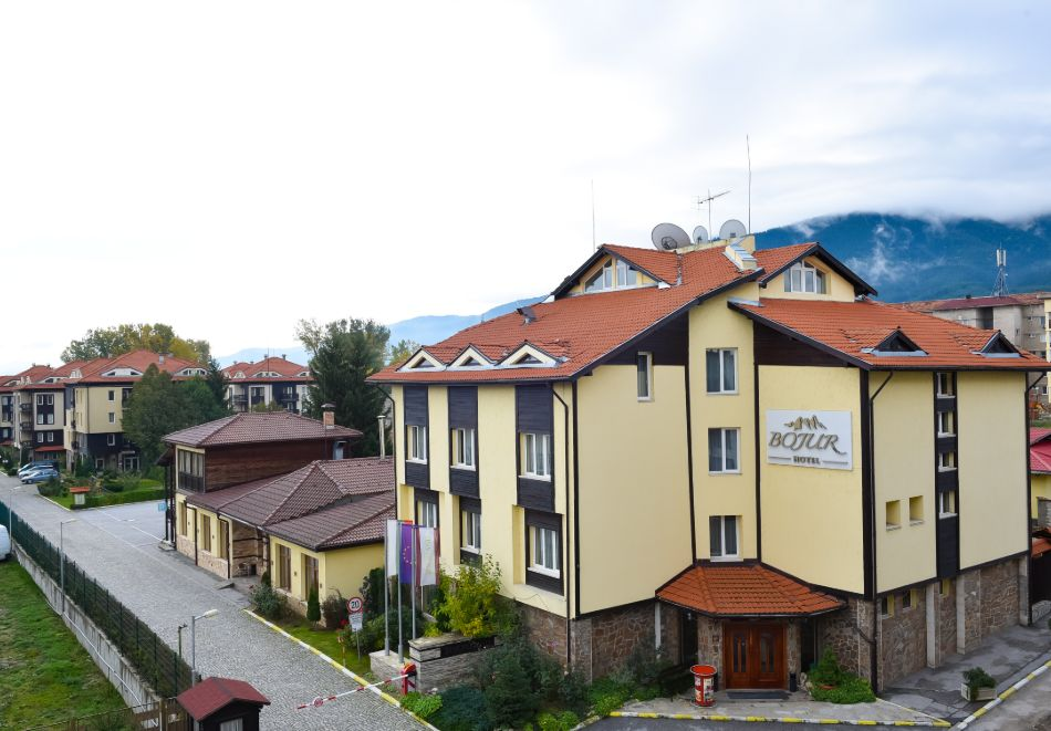 Семеен хотел Божур, Банско
