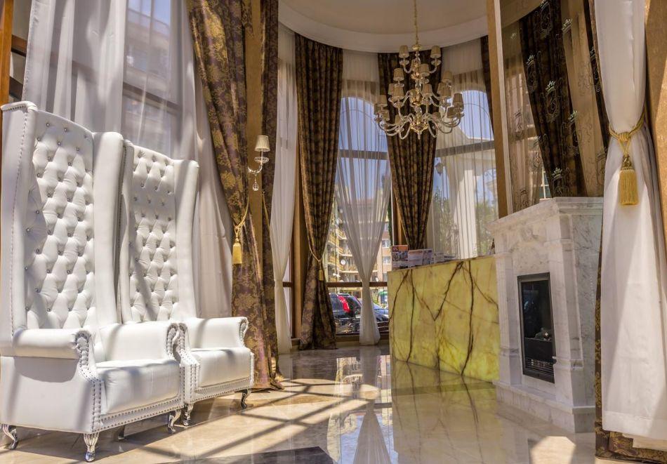 Нощувка на човек + басейн и релакс зона в хотел Хармони Суитс Монте Карло, Слънчеб бряг, снимка 18