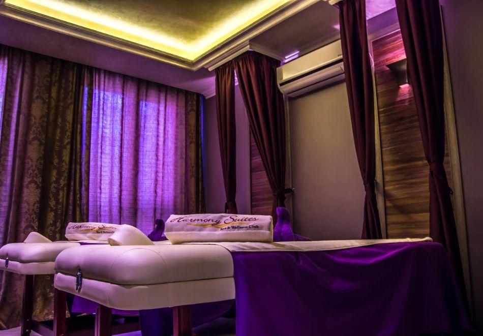 Нощувка на човек + басейн и релакс зона в хотел Хармони Суитс Монте Карло, Слънчеб бряг, снимка 9