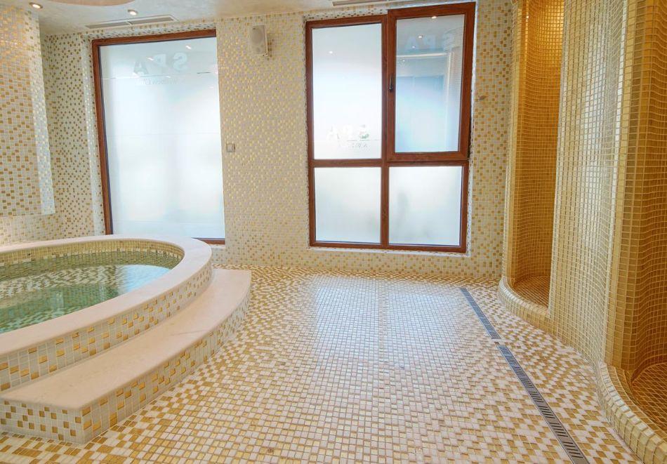 Нощувка на човек + басейн и релакс зона в хотел Хармони Суитс Монте Карло, Слънчеб бряг, снимка 8