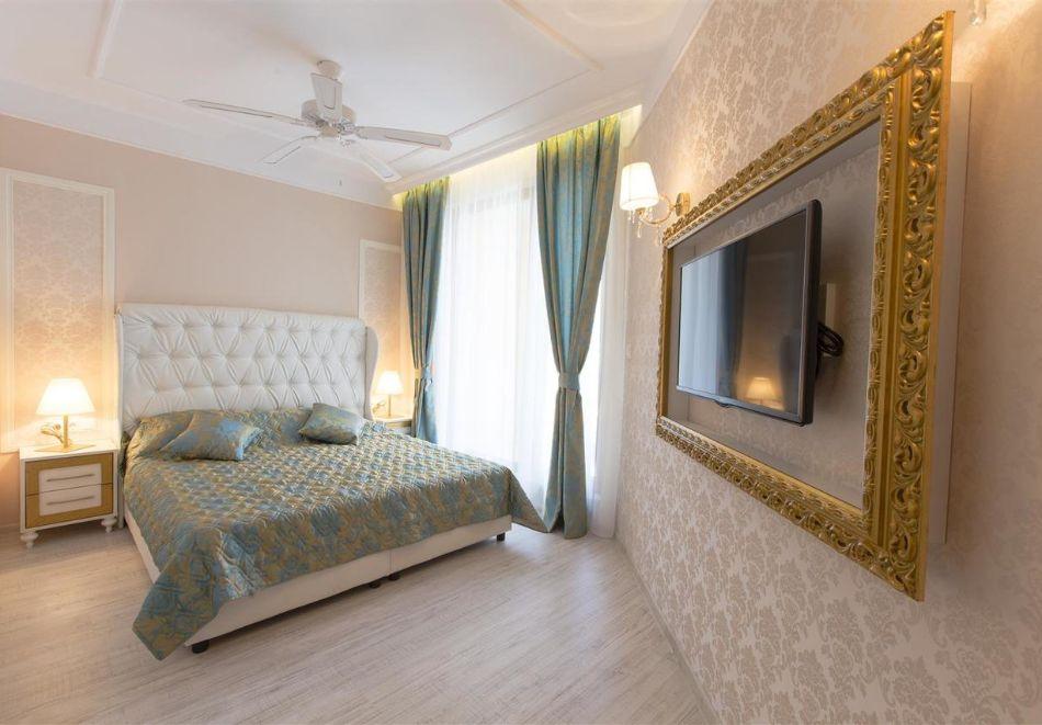 Нощувка в апартамент за двама с две деца или трима в хотел Хармони Суитс Дрийм Айлънд, Слънчев бряг, снимка 6