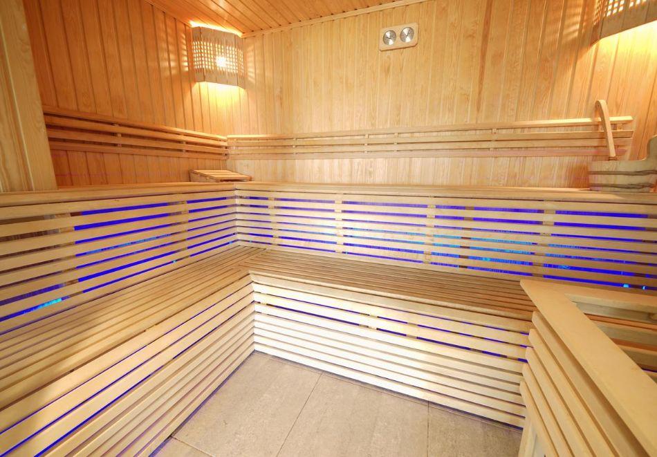 Нощувка в апартамент за двама с две деца или трима + басейн и релакс пакет в хотел Хармони Суитс Дрийм Айлънд, Слънчев бряг, снимка 6