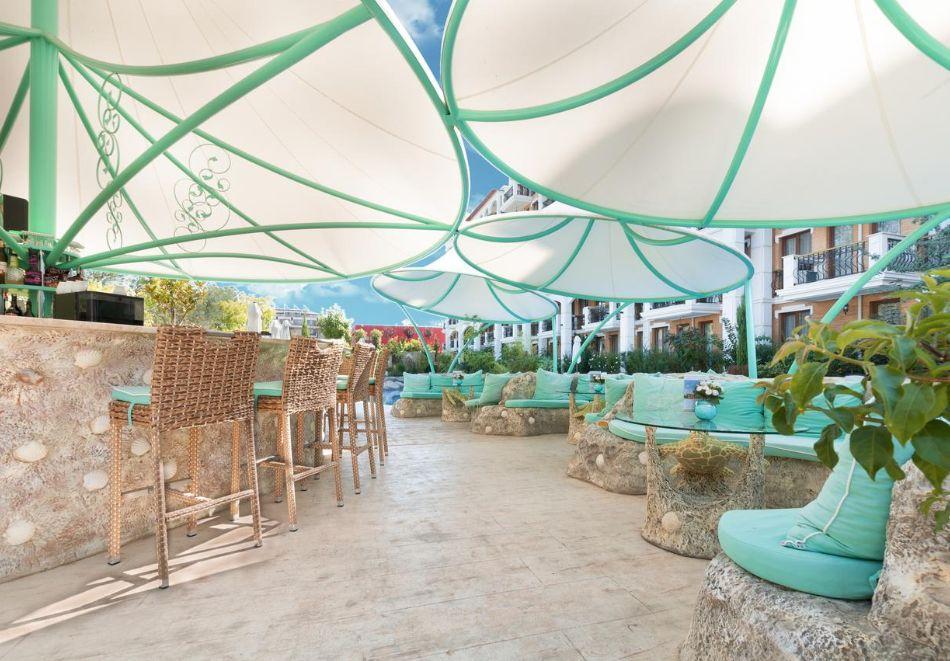 Нощувка на човек + басейн и релакс зона в хотел Хармони Суитс Гранд Ризорт 11, 12, Слънчев бряг, снимка 20