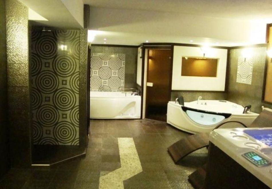 Нощувка на човек със закуска + басейн и релакс зона в РЕНОВИРАНИЯ хотел Виа Лакус, Сапарева баня!, снимка 10