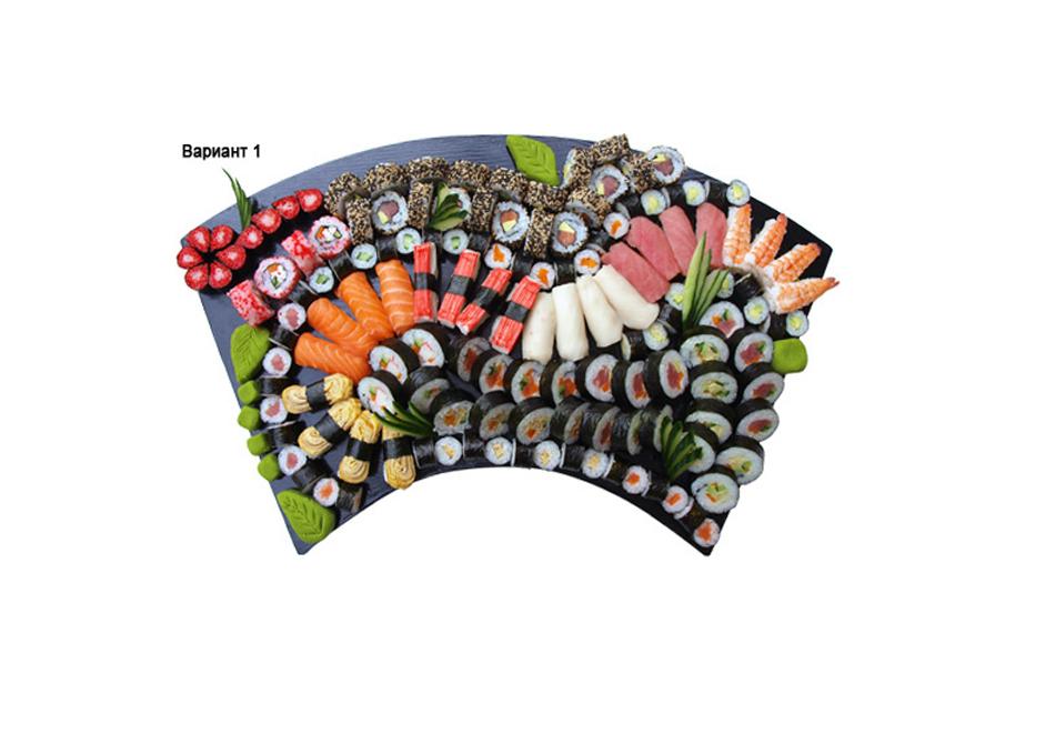 """Суши сет """"Комбо Суши Сет"""" 1 - 36 бр. 1 кг.  от ресторант Wasabi garden, София, снимка 4"""