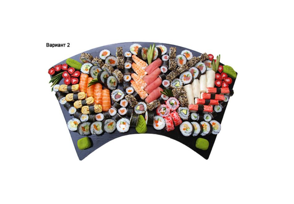 """Суши сет """"Комбо Суши Сет"""" 1 - 36 бр. 1 кг.  от ресторант Wasabi garden, София, снимка 5"""