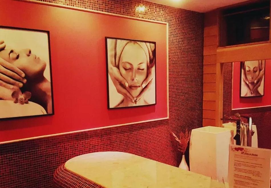 Нощувка на човек със закуска и вечеря + 3 минерални басейна и релакс зона от хотел Делта, Огняново, снимка 11