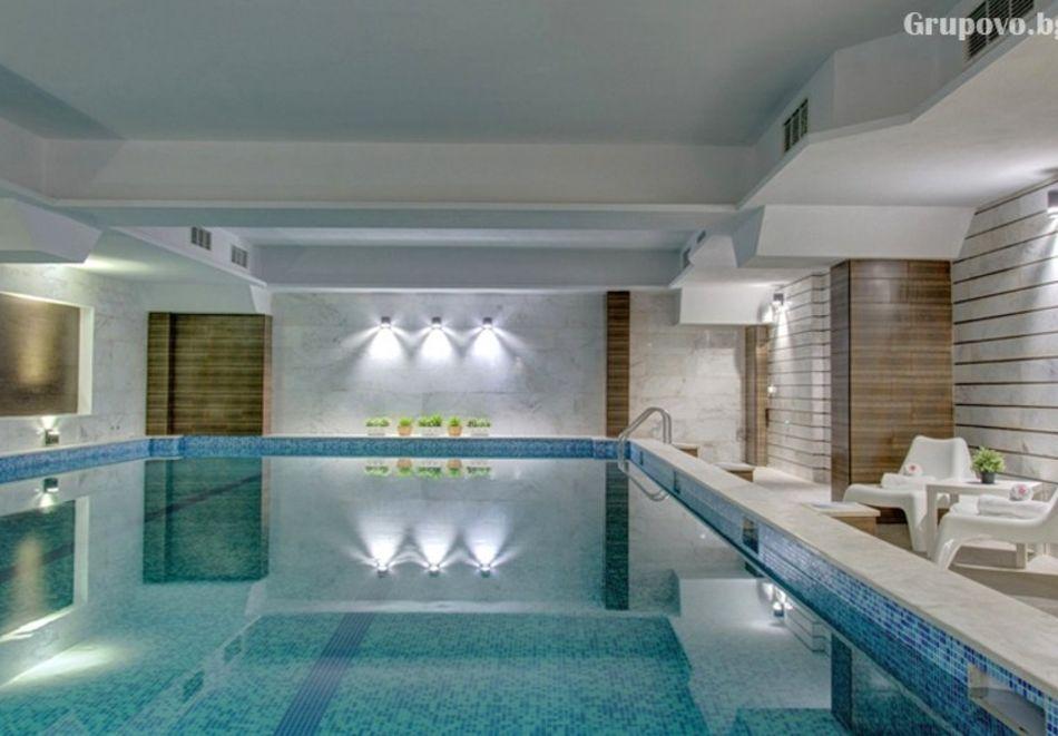 Почивка в Благоевград! Нощувка на човек със закуска и вечеря + минерален басейн и релакс пакет от хотел Монте Кристо, снимка 4
