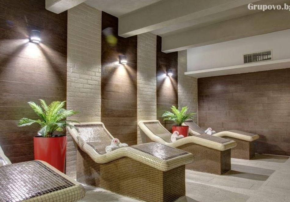 Почивка в Благоевград! Нощувка на човек със закуска и вечеря + минерален басейн и релакс пакет от хотел Монте Кристо, снимка 9