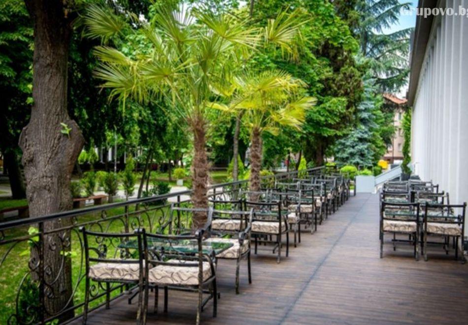Почивка в Благоевград! Нощувка на човек със закуска и вечеря + минерален басейн и релакс пакет от хотел Монте Кристо, снимка 20