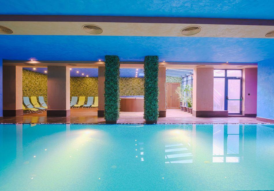 1, 3 ил 5 нощувки на човек със закуски и вечери  + вътрешен басейн с топла минерална вода от Корнелия Голф Ски & Спа, край Банско, снимка 4