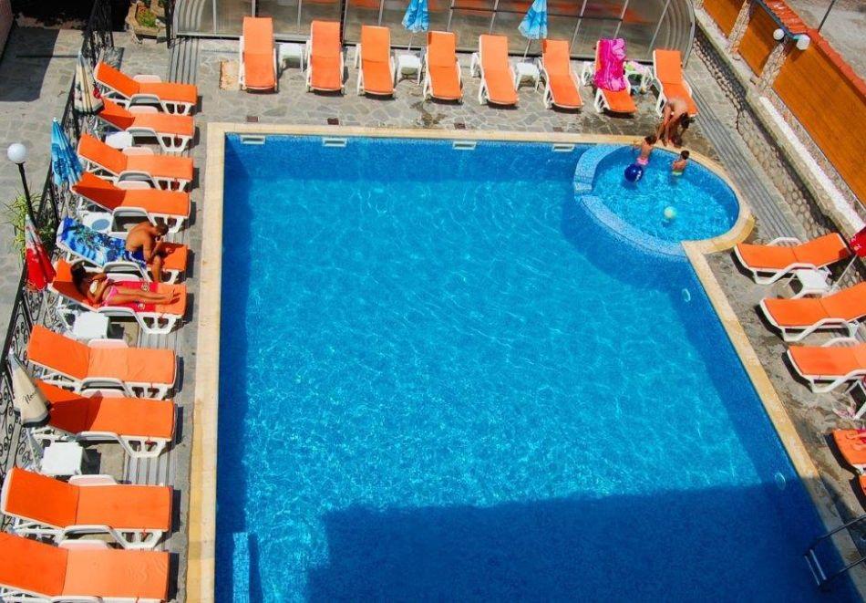 Нощувка на човек + минерален басейн и релакс зона от хотел Прим, Сандански, снимка 3