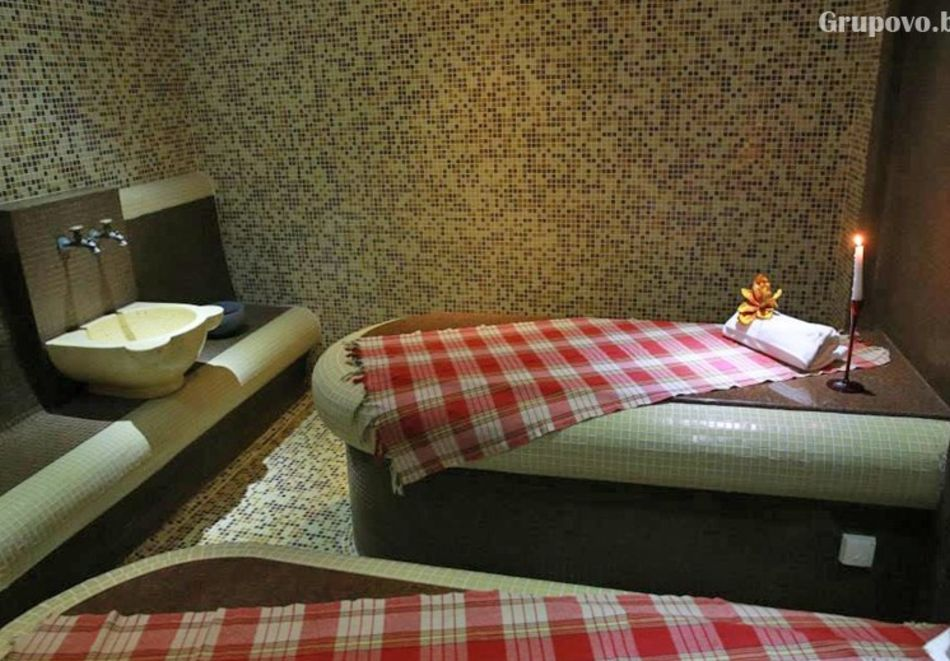 Нощувка на човек на база All inclusive light + басейн и релакс зона в комплекс Зара**** Банско, снимка 9