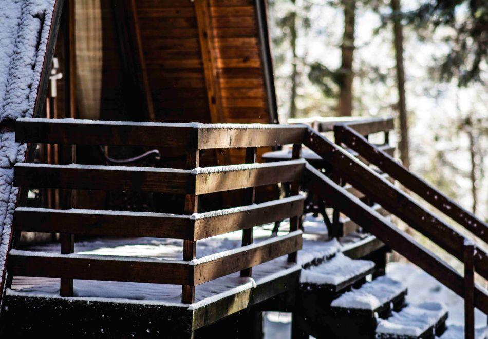 2=3 или 4=5 нощувки в напълно оборудвана къща за до 5 човека във Вилни селища Ягода и Малина, Боровец, снимка 12