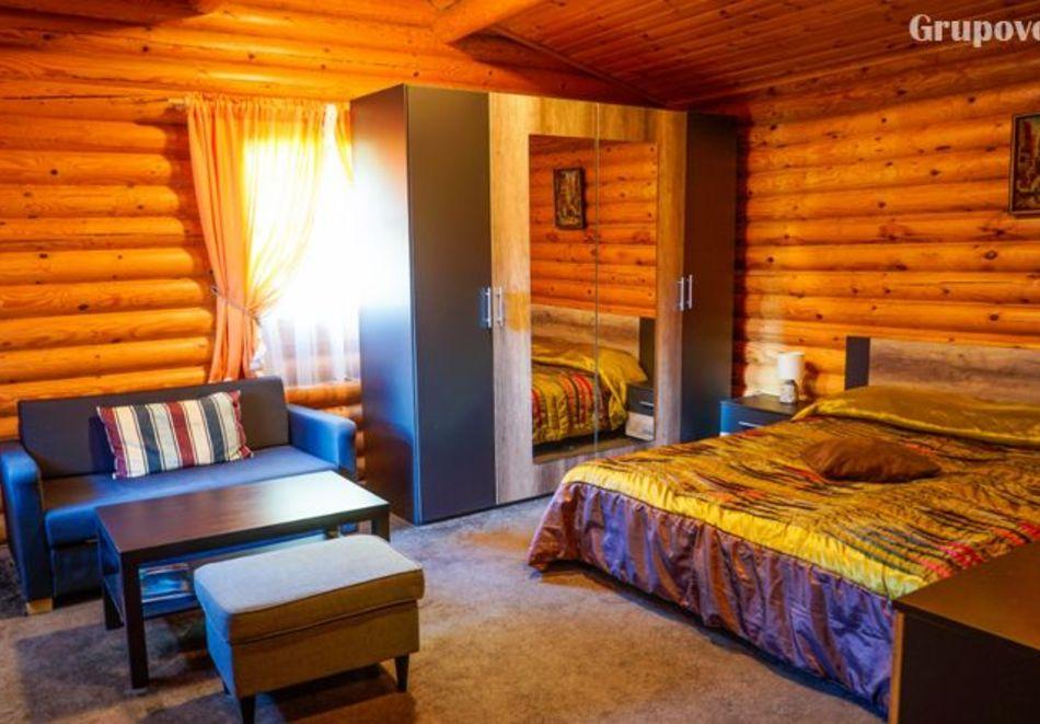 2=3 или 4=5 нощувки в напълно оборудвана къща за до 5 човека във Вилни селища Ягода и Малина, Боровец, снимка 20