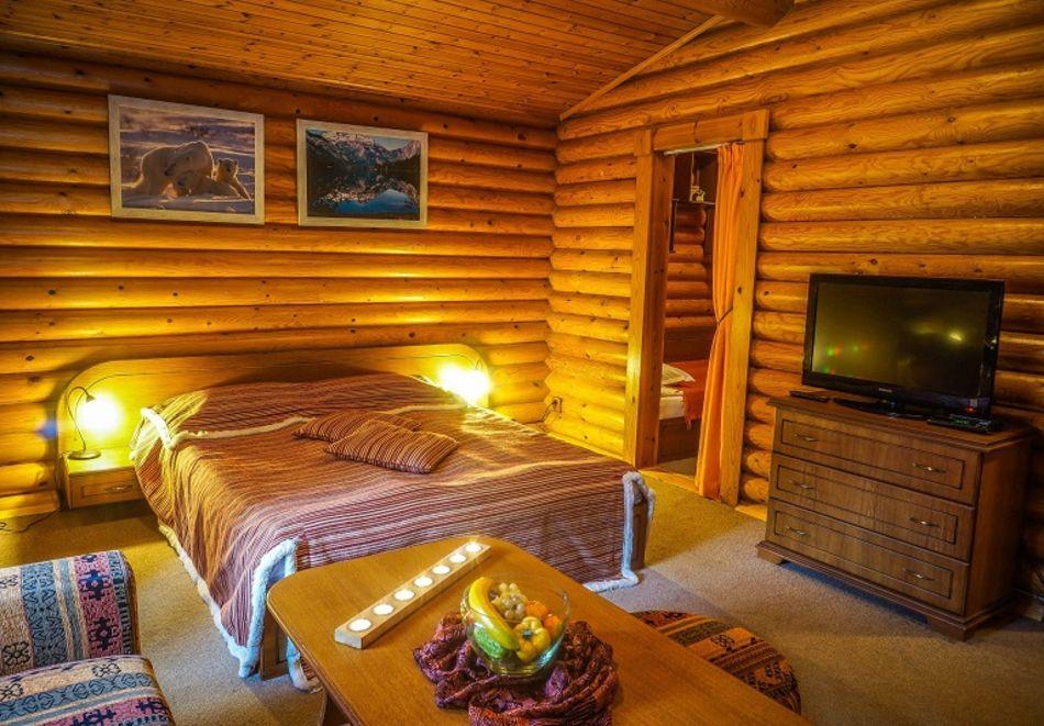 2=3 или 4=5 нощувки в напълно оборудвана къща за до 5 човека във Вилни селища Ягода и Малина, Боровец, снимка 15