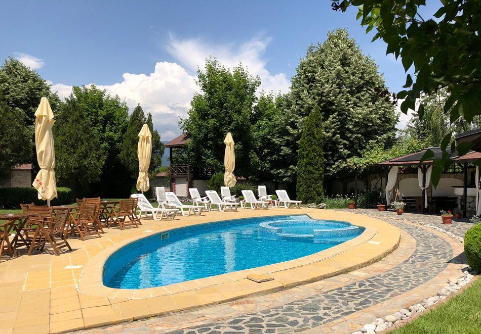 Нощувка на човек със закуска + басейн с минерална вода + релакс зона в хотел Олимп***, Банско. При закупуване на ваучер за 3 нощувки,  получавате безплатна 4-та нощувка, снимка 6