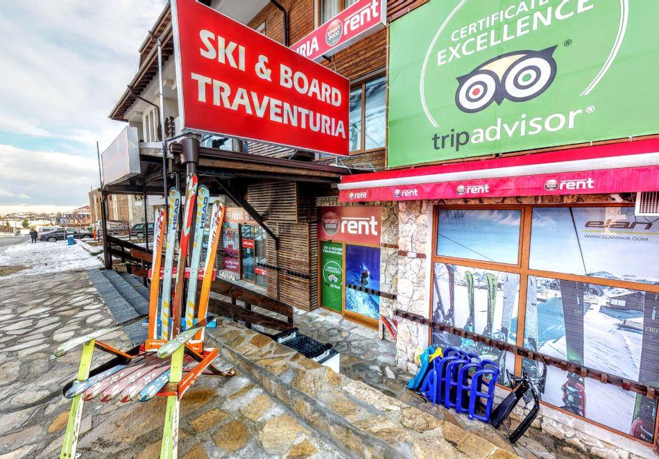 Сервиз на собствено ски или сноуборд оборудване от магазин Травентурия, Банско, снимка 2
