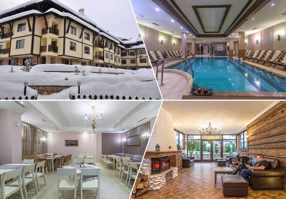 2 или 3 нощувки на човек + отопляем басейн и сауна от хотел Мария Антоанета, Банско. 5=6 нощувки!, снимка 2