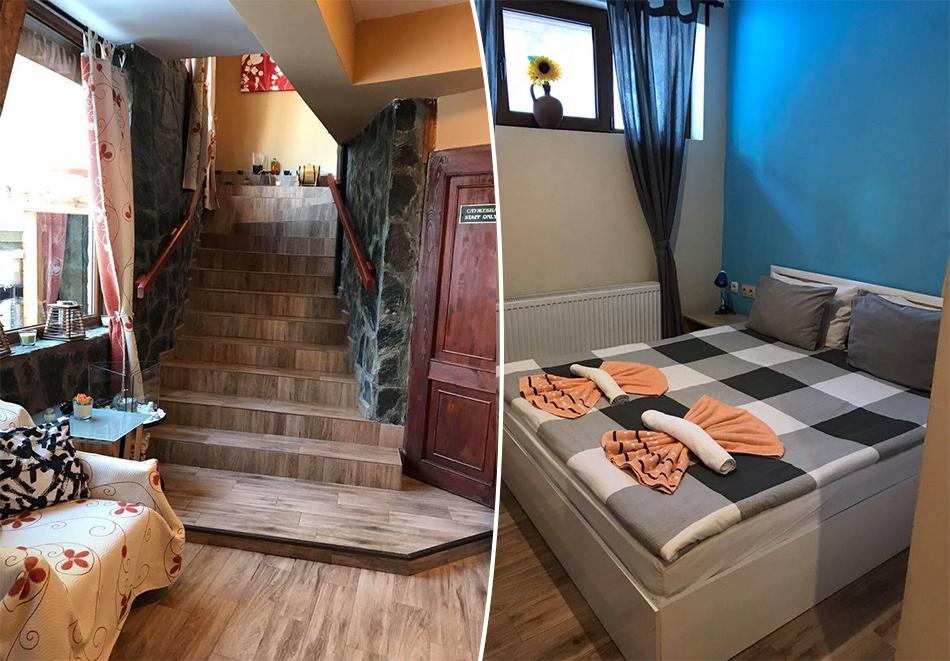 Почивка в Боровец, до писта Червено знаме! Нощувка за двама или четирима в Семеен хотел Сангрия. Възможност за изхранване на място!, снимка 3