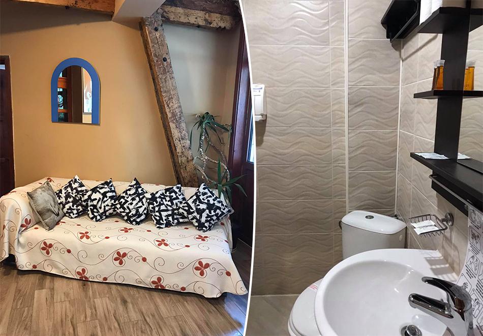 Почивка в Боровец, до писта Червено знаме! Нощувка за двама или четирима в Семеен хотел Сангрия. Възможност за изхранване на място!, снимка 7