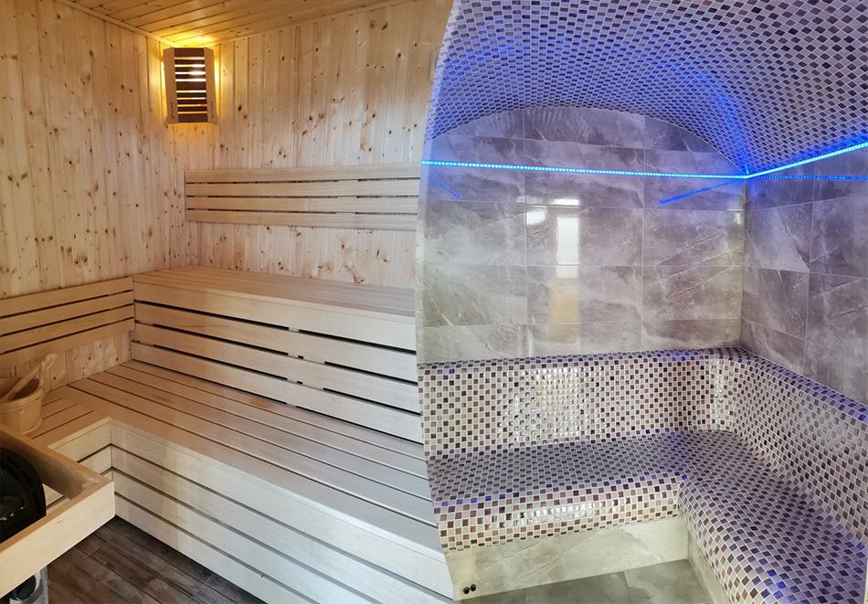 Нощувка на човек със закуска + сауна, джакузи и парна баня от Семеен хотел Александър, Павел баня, снимка 4