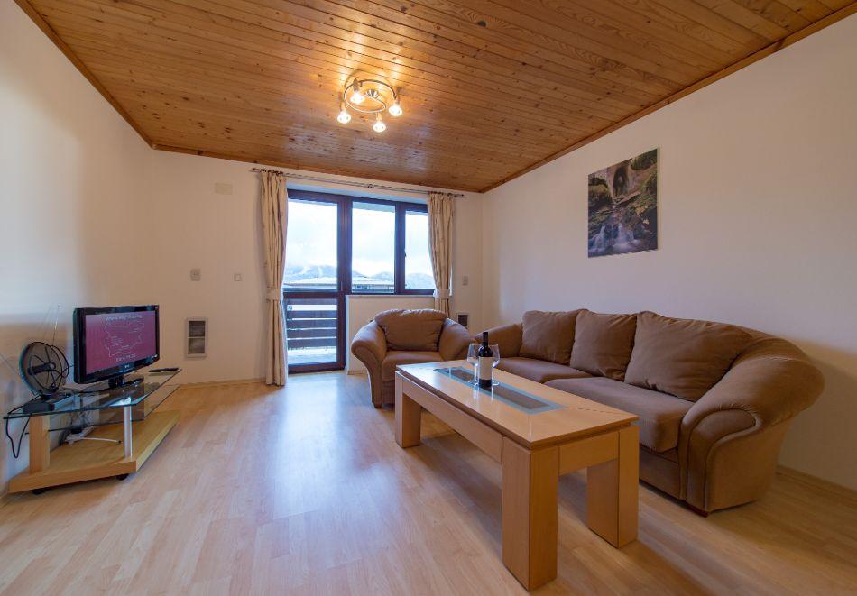 Нощувка в апартамент за четирима + релакс зона в Апартаменти за гости в Пампорово, снимка 38