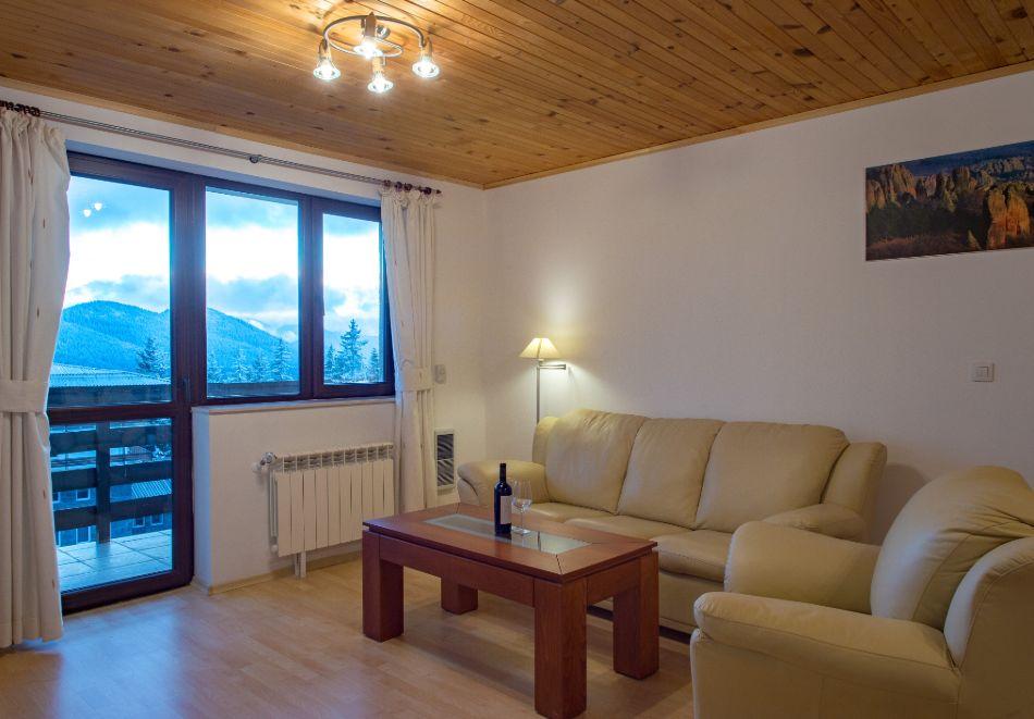 Нощувка в апартамент за четирима + релакс зона в Апартаменти за гости в Пампорово, снимка 37