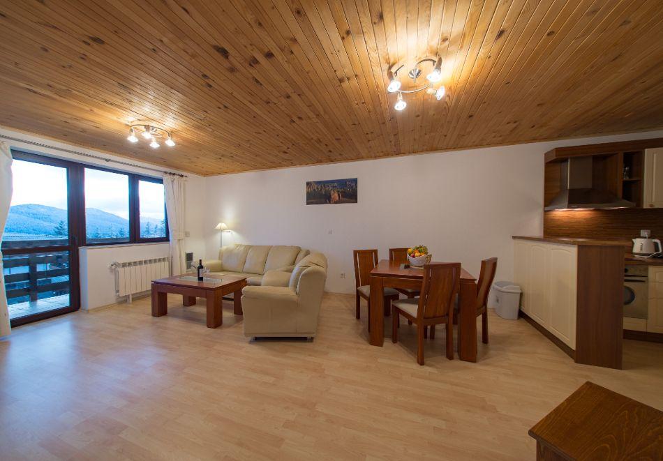 Нощувка в апартамент за четирима + релакс зона в Апартаменти за гости в Пампорово, снимка 36