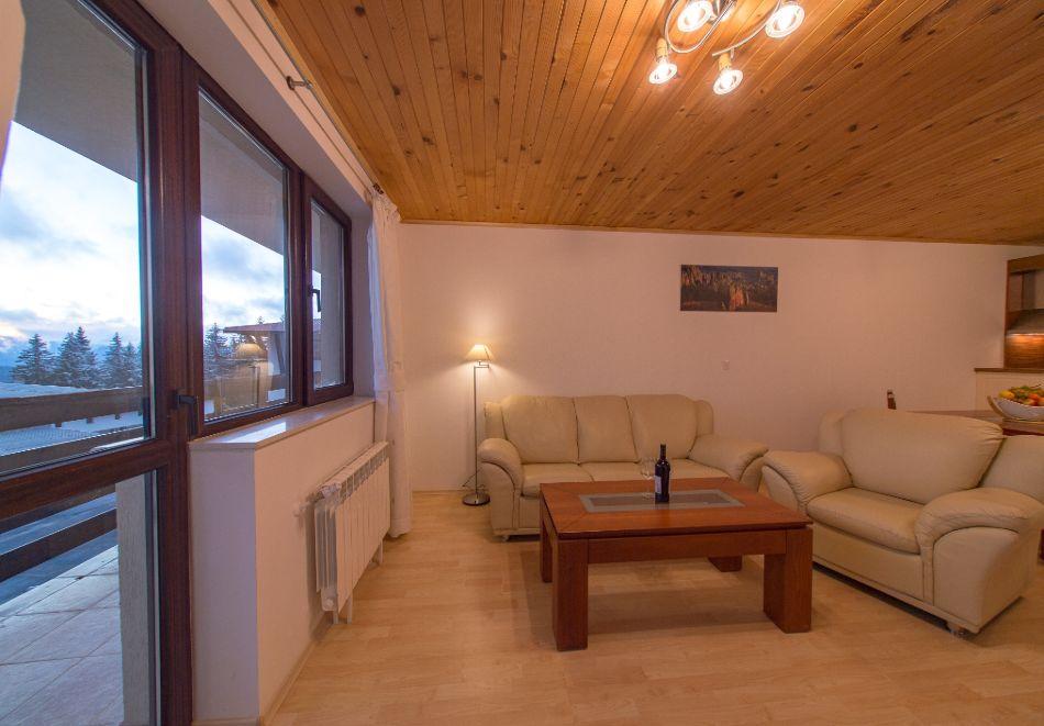 Нощувка в апартамент за четирима + релакс зона в Апартаменти за гости в Пампорово, снимка 35