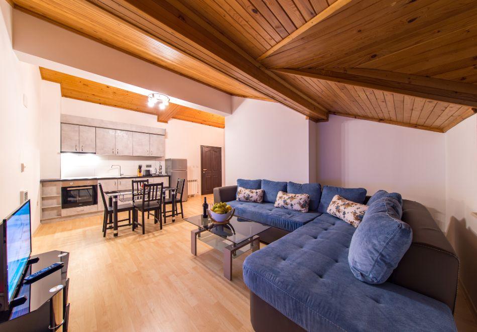 Нощувка в апартамент за четирима + релакс зона в Апартаменти за гости в Пампорово, снимка 25