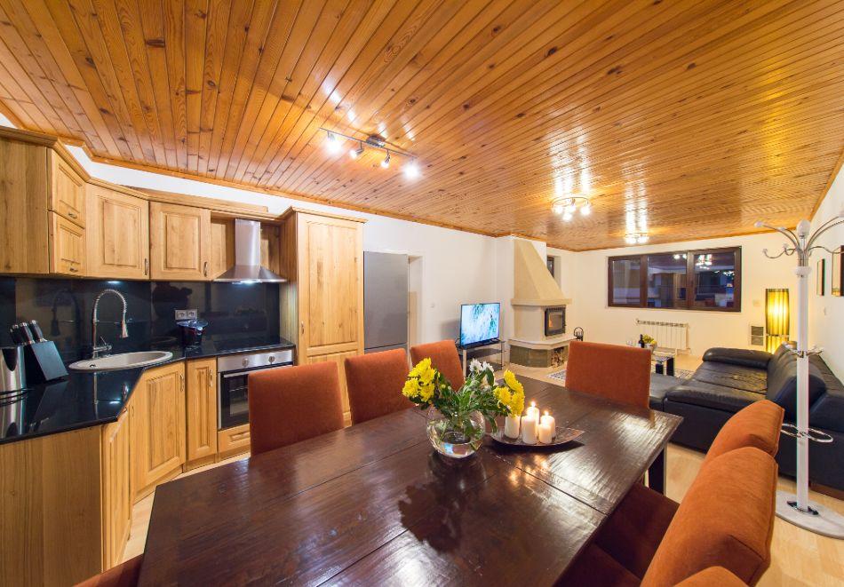 Нощувка в апартамент за четирима + релакс зона в Апартаменти за гости в Пампорово, снимка 28