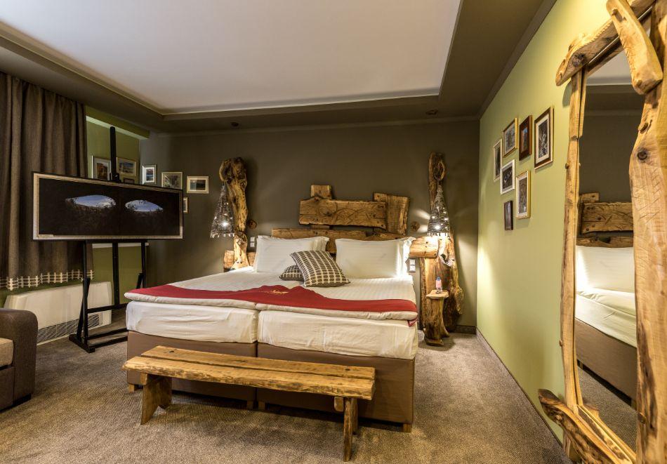 Нощувка на човек със закуска + басейн и СПА зона от хотел Дипломат Плаза****, Луковит, снимка 13