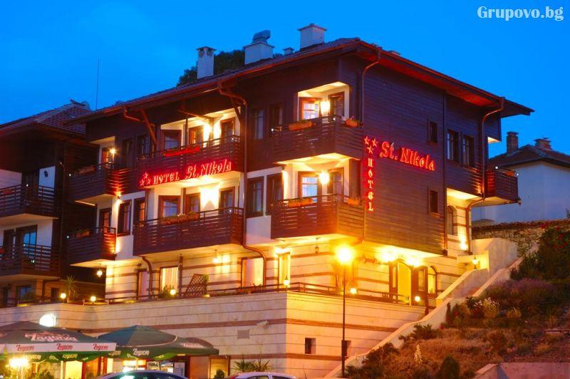 Нощувка на човек в хотел Свети Никола, Несебър, снимка 17