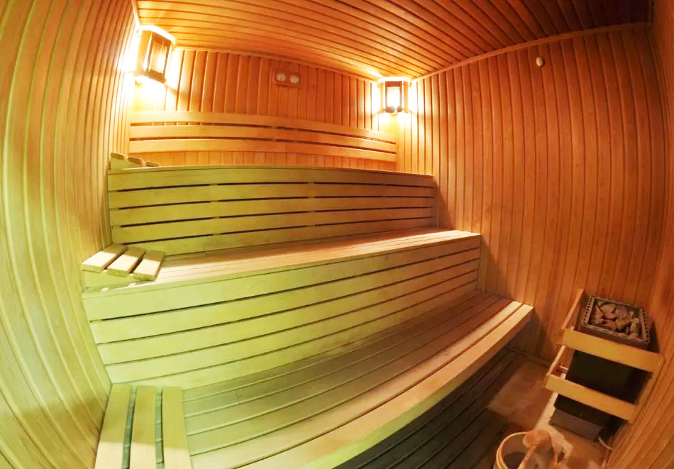 Зимна ваканция в Чепеларе! Нощувка на човек със закуска и вечеря + басейн и релакс пакет в хотел Родопски Дом, снимка 7
