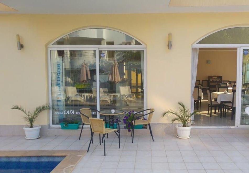 Лято в Равда на 100м. от плажа! Нощувка със закуска, обяд* и вечеря + басейн в хотел Сага, снимка 13