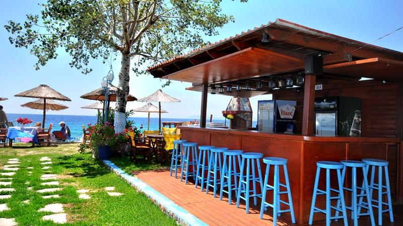 На брега на морето в Халкидики, Гърция. Нощувка на човек със закуска и вечеря в хотел Ангелос Гардън, Tорони, снимка 6