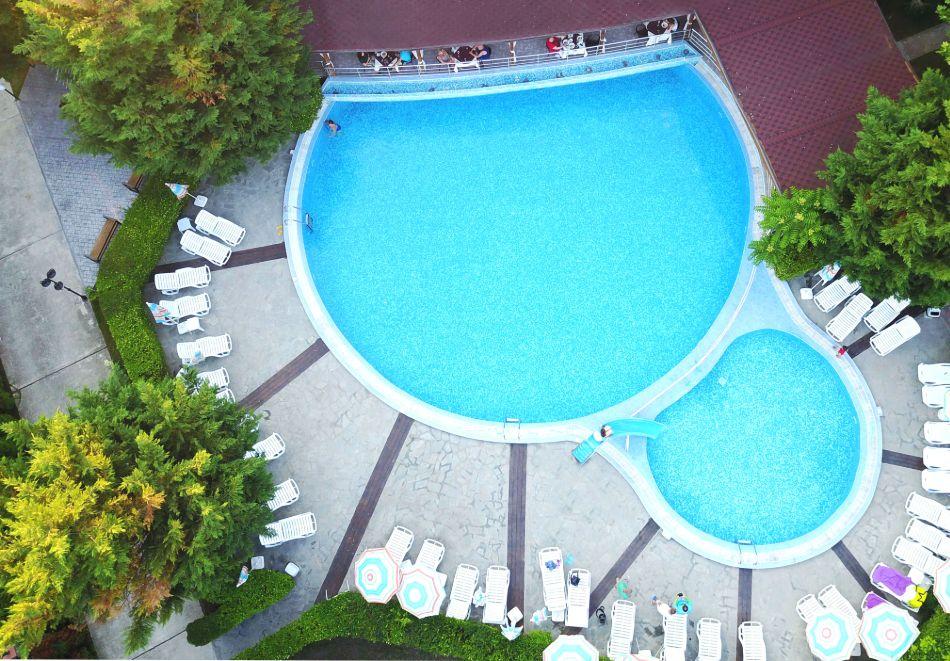 Нощувка на човек със закуска + басейн в хотел Палма, Слънчев Бряг, снимка 4