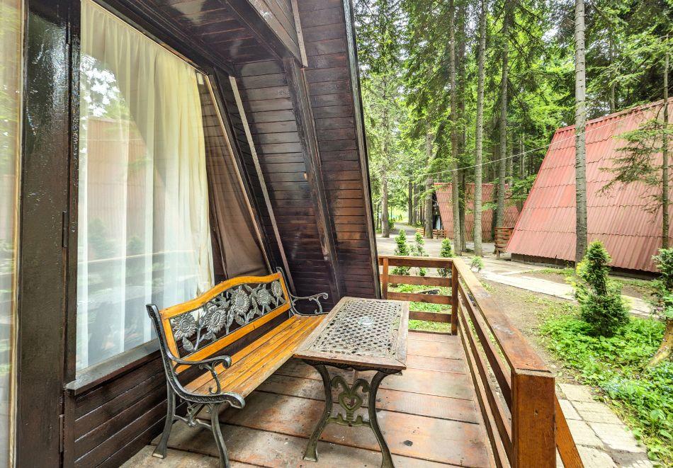 2=3 или 4=5 нощувки в напълно оборудвана къща за до 5 човека във Вилни селища Ягода и Малина, Боровец, снимка 5