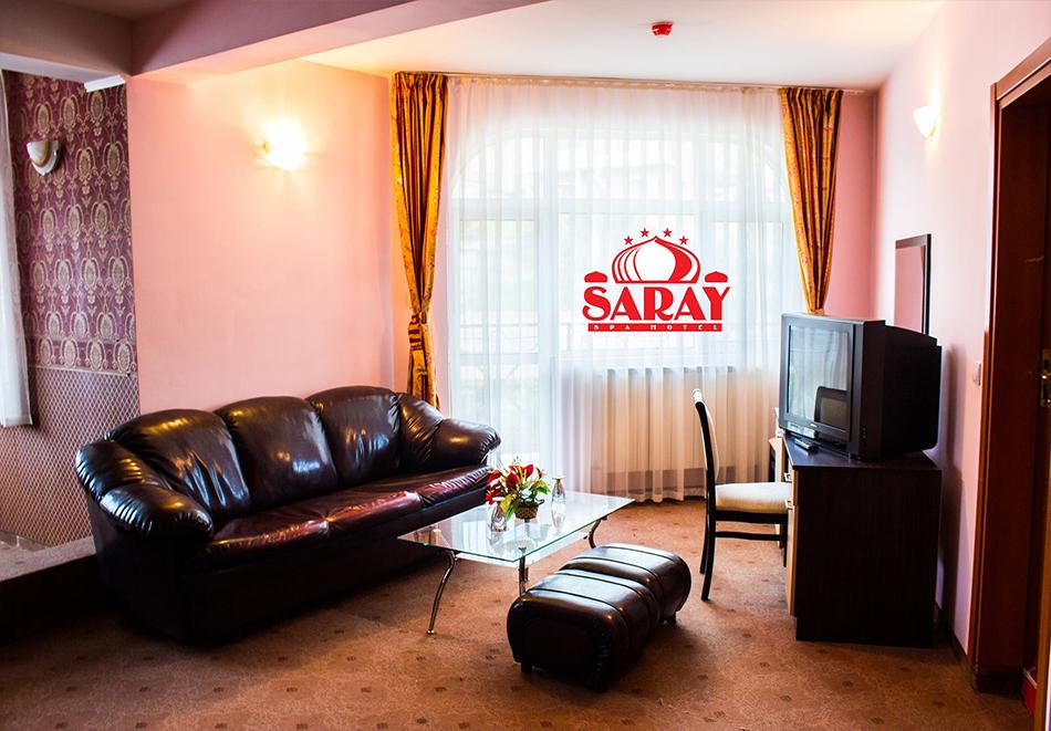2 или повече нощувки на човек със закуски, обеди и вечери + вътрешен минерален басейн в хотел Сарай, до Велинград, снимка 6