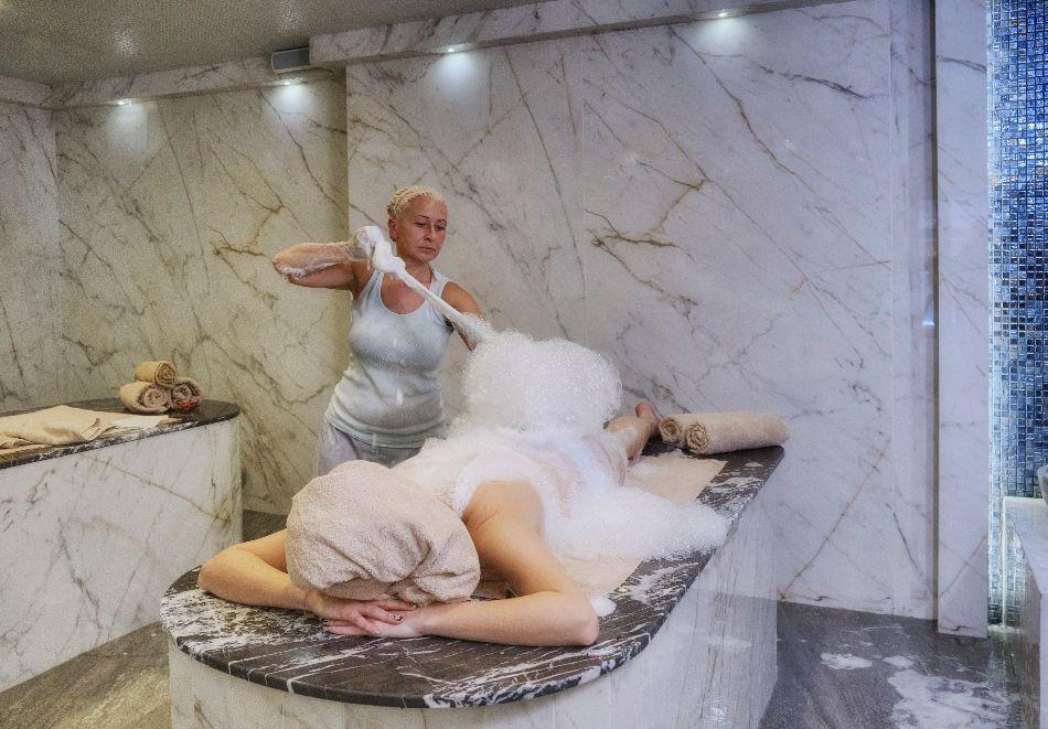 Откриване на изцяло реновирания СПА Ризорт Св. Иван Рилски****, Банско! Нощувка на човек на база All inclusive + горещ външен и вътрешен басейн и СПА зона, снимка 14