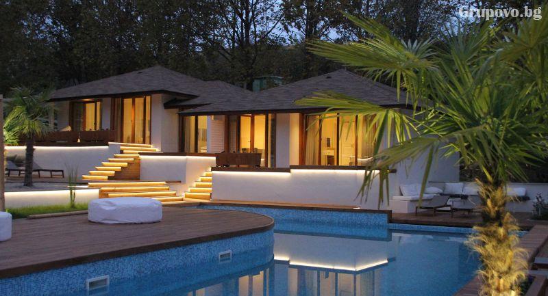 2 нощувки в луксозна вила с капацитет от 2 до 6 човека със закуски + минерален басейн и СПА пакет в СПА вили Медите*****, Сандански, снимка 5