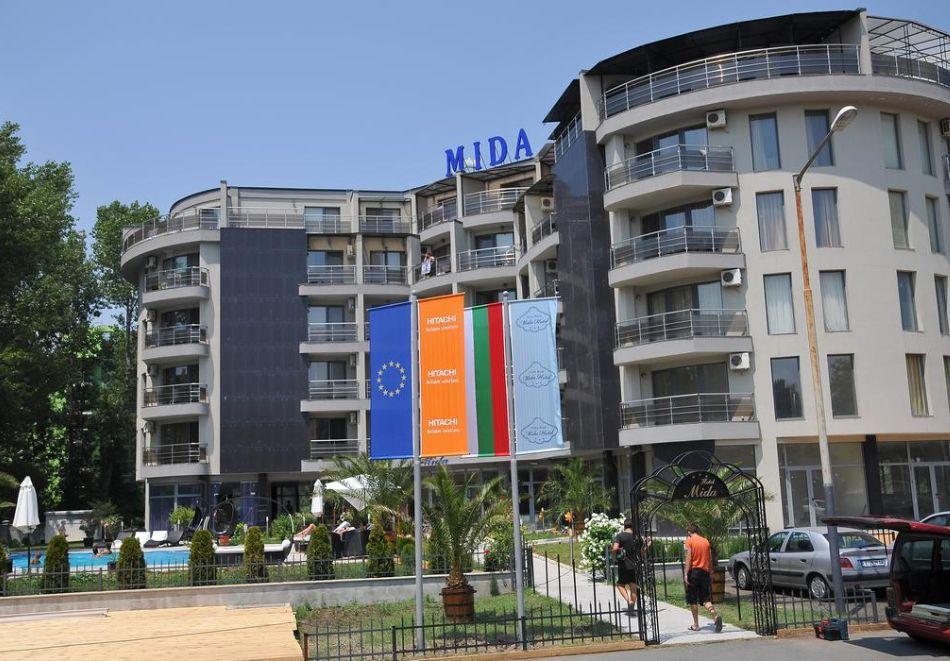 Хотел Мида, Слънчев бряг