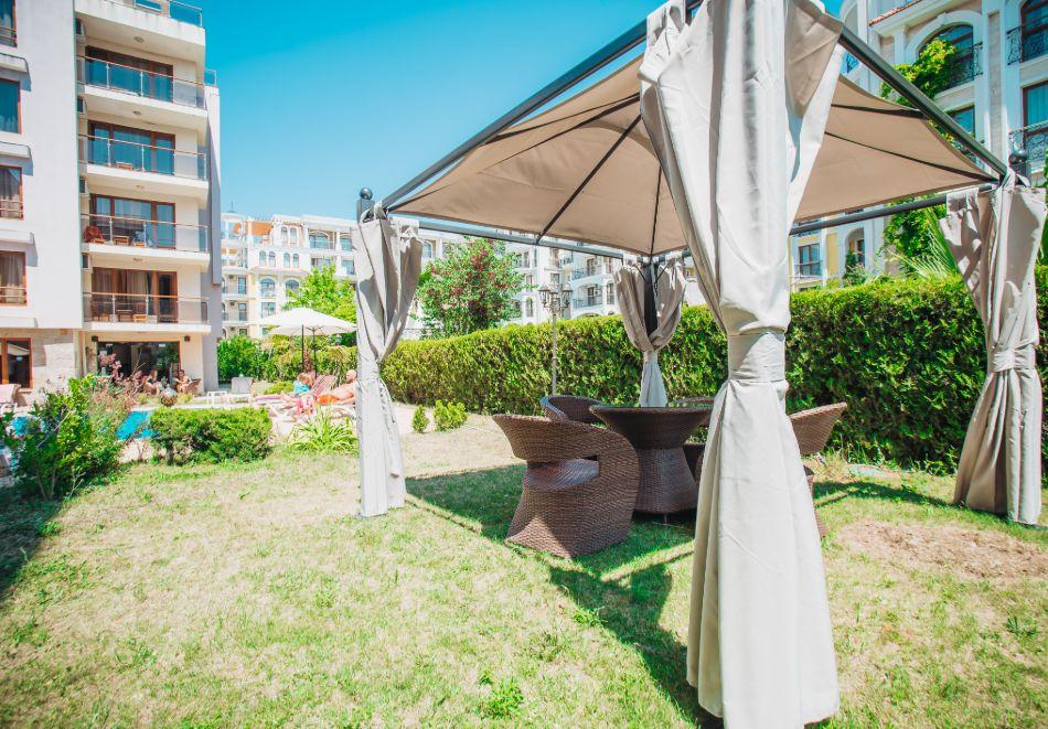 3 нощувки на човек на база All inclusive light + басейн в Апарт хотел Магнолия Гардън, Слънчев бряг, снимка 27