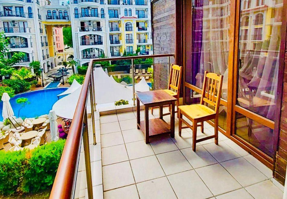 1, 2 или 3 нощувки на човек със закуски + басейн в Апарт хотел Магнолия Гардън, Слънчев бряг. Дете до 12г. - безплатно, снимка 22