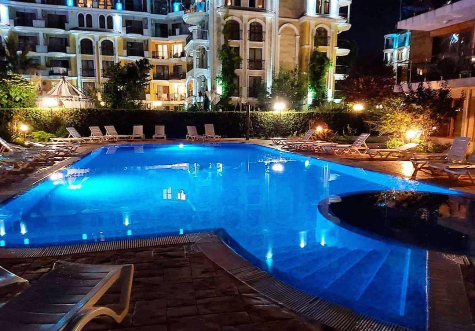 3 нощувки на човек на база All inclusive light + басейн в Апарт хотел Магнолия Гардън, Слънчев бряг, снимка 9