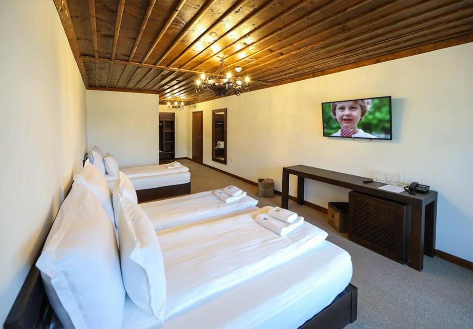 Три нощувки на човек със закуски и вечери + басейн и релакс център в хотел Лещен, с. Лещен, снимка 15