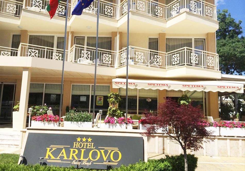 Нощувка със закуска на човек + басейн в хотел Карлово, Слънчев бряг, снимка 13